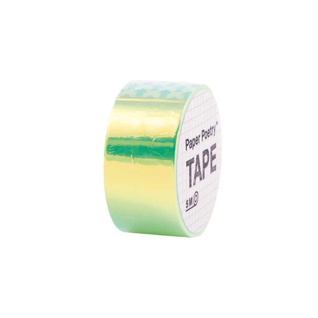 Mirror Rainbow Tape Green