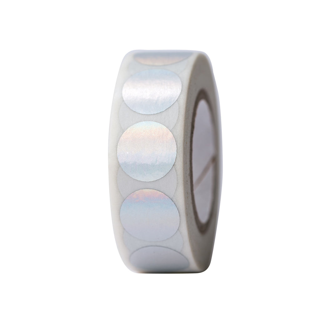 Tape Dots Iridescent Hot Foil