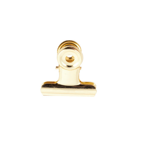 Bulldog Clips 30 mm Gold