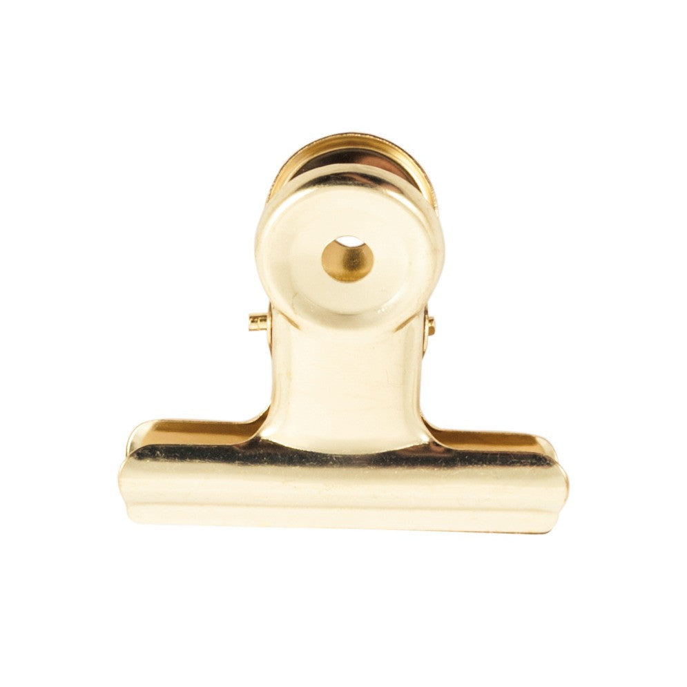 Bulldog Clips 50 mm Gold
