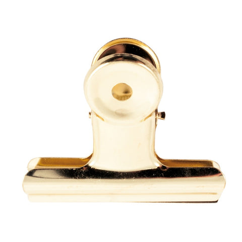 Bulldog Clip 63 mm Gold
