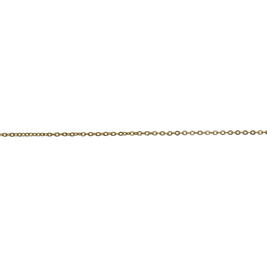 Linked Chain Gold 1.5 mm x 1m
