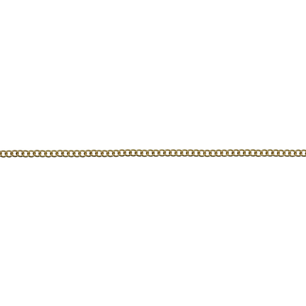 Linked Chain Gold 2.3 mm x 1m