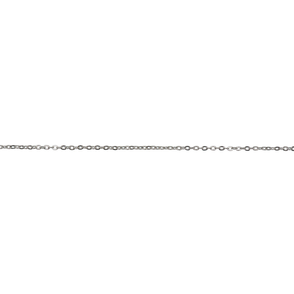 Linked Chain Silver 1.5 mm x 1