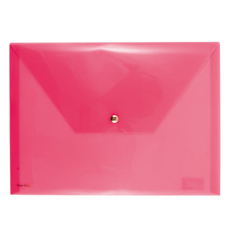 Document Folder Neon Pink