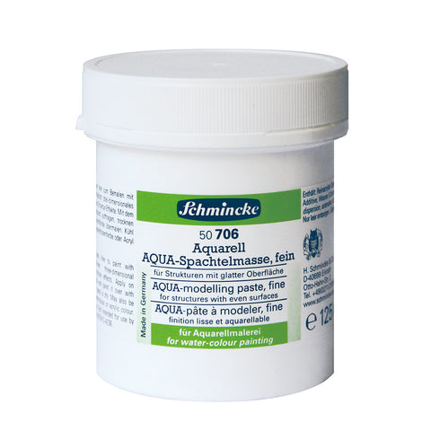 Schmincke Mediums - Aqua Modelling Paste Fine - 125ml
