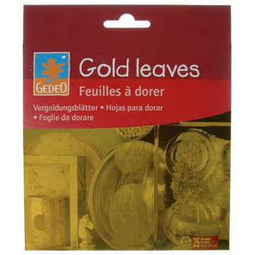 Gedeo Gold Leaves 25 Pk