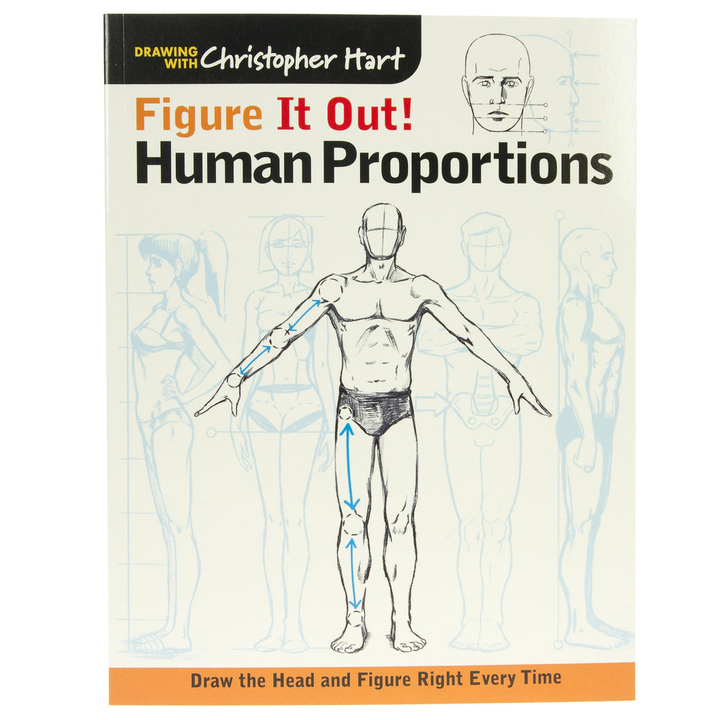 Figure It Out Human Proportions Book