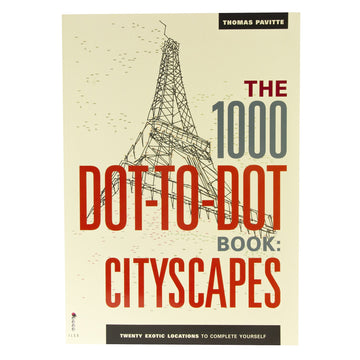 1000 Dot-To-Dot Book: Cityscapes