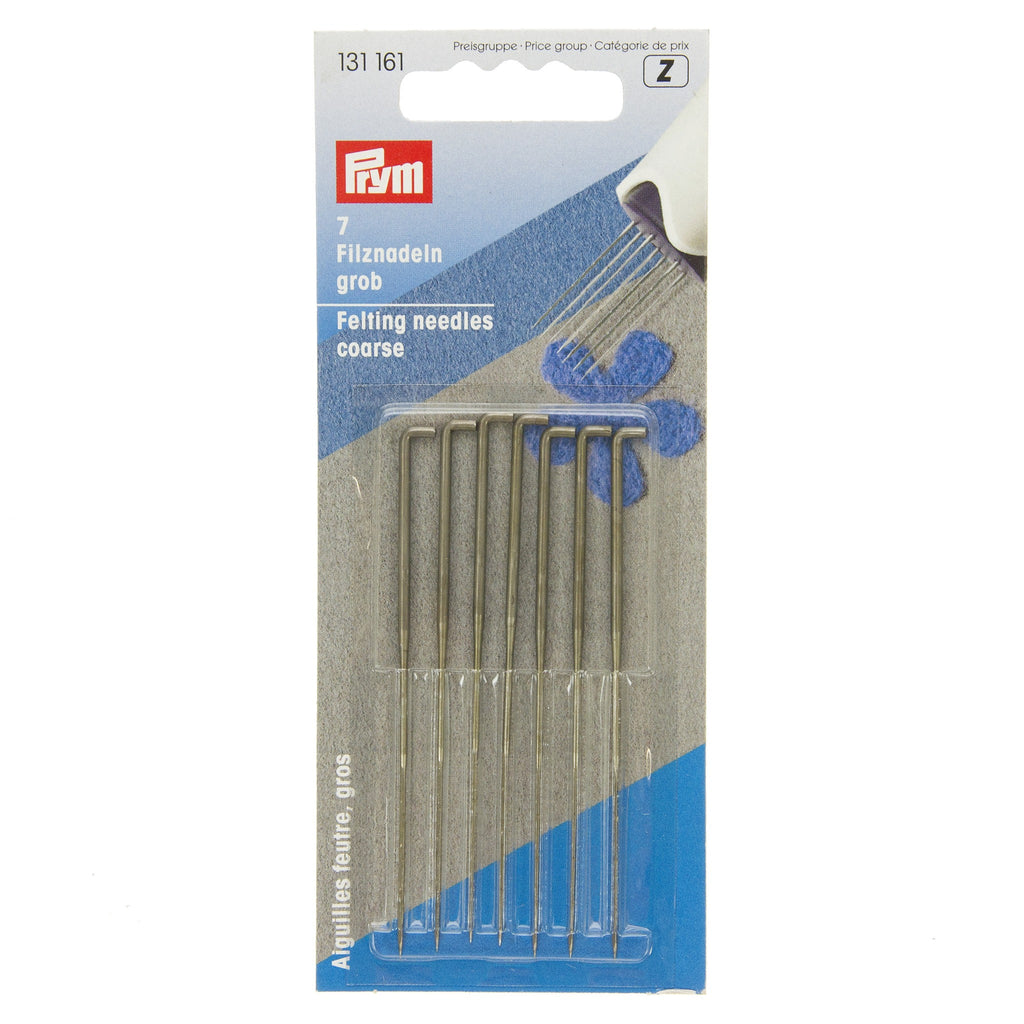 Prym Felting Needles Coarse - 7pk