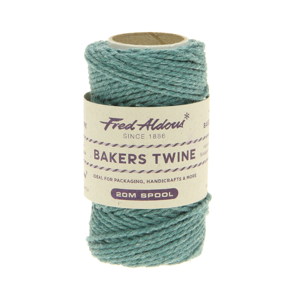 Fred Aldous - Solid Bakers Twine - Eton Blue - 20mt