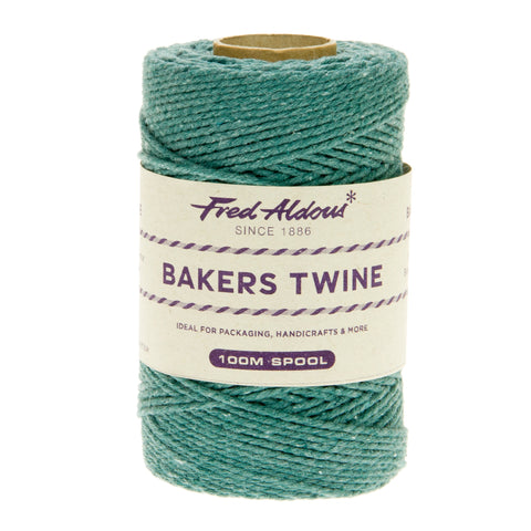 Fred Aldous - Solid Bakers Twine - Eton Blue - 100mt