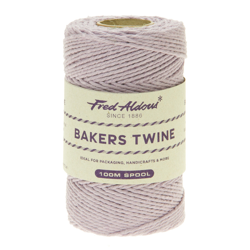 Fred Aldous - Solid Bakers Twine - Highland Heather - 100mt