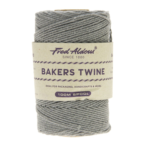 Fred Aldous - Solid Bakers Twine - Lakeland Slate - 100mt
