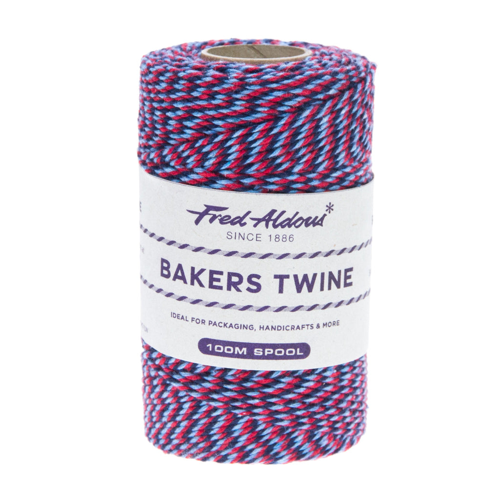 Fred Aldous - Tri Coloured Bakers Twine - Help The Heroes - 100mt