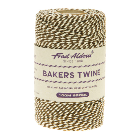Fred Aldous - Metallic Bakers Twine - Bronze Metallic - 100mt