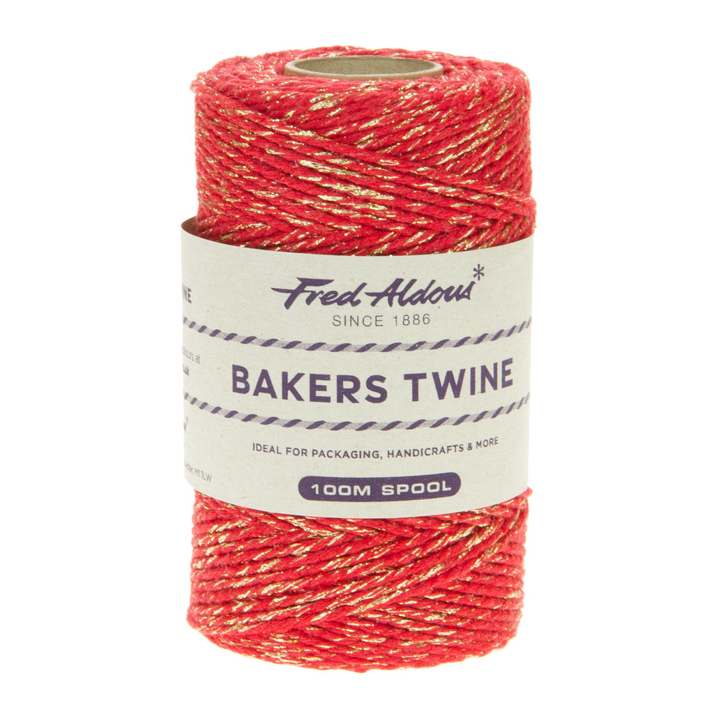 Fred Aldous - Sparkle Bakers Twine - Beefeater Sparkle - 100mt