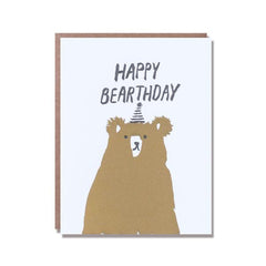 Egg Press Card Happy Bearthday