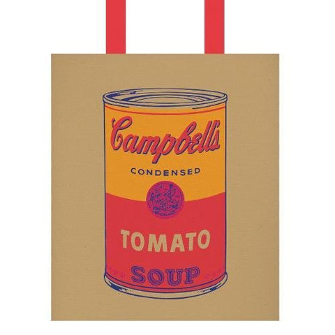 Andy Warhol Campbells Soup Tote Bag