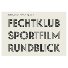Fifty Type Specimens: From the Collection of Tobias Frere-Jones