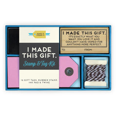 I Made This Gift Stamp and Tag Kit