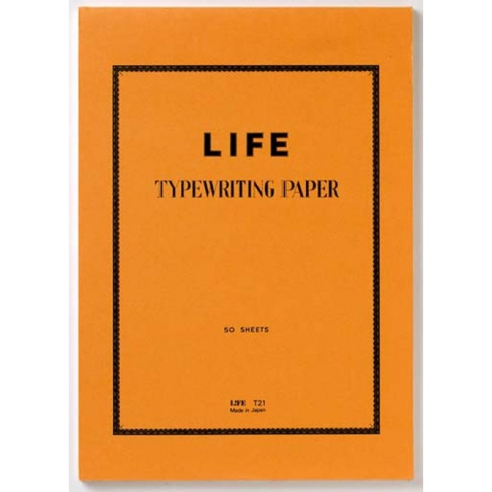 Life Typing Paper // A4