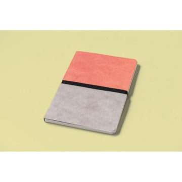 Happily Ever Paper Divido Notebook - Pink/Grey