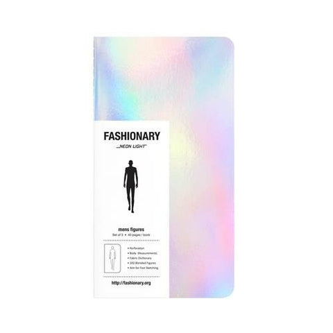 Fashionary Mini Neon-Light Mens (set of 3)