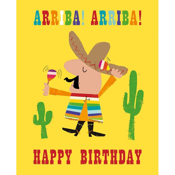 Ink Press - Arriba! Arriba! Happy Birthday