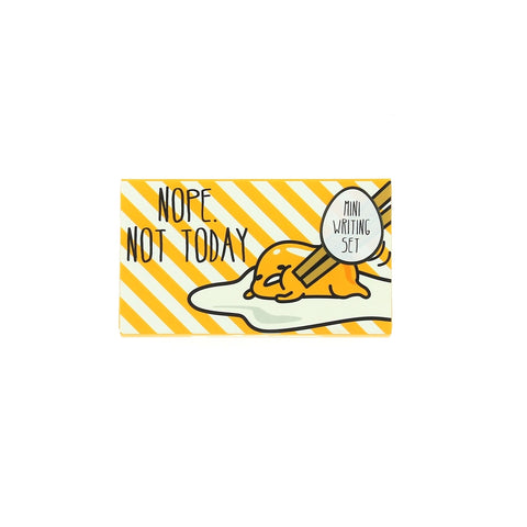 Gudetama Mini Writing Set