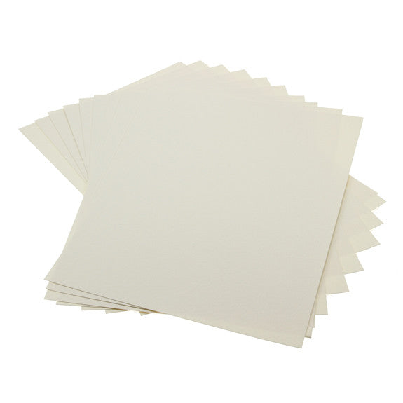 Cardstock Hammered Cream A4 - 25 Pk