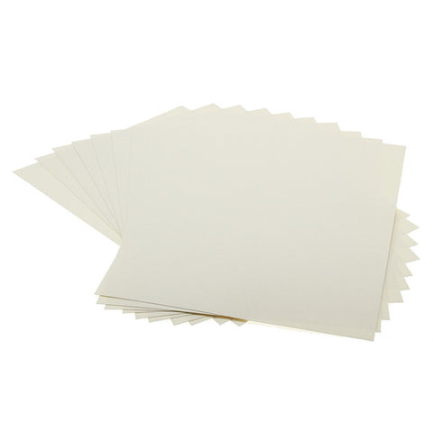 Cardstock Plain Cream A4 - 25 Pk