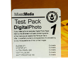 A4 PermaJet Digital Photo Paper Test Pack - 25 sheets