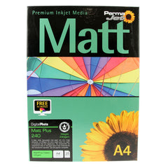 A4 PermaJet Digital Photo Paper Matt/Plus - 240gsm - 25pk