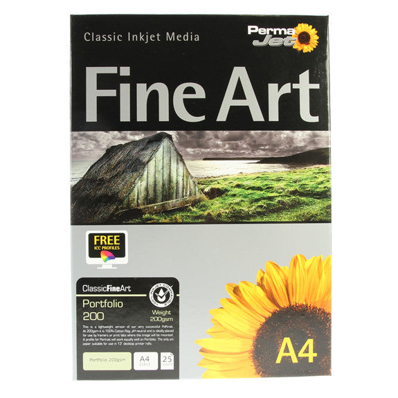 A4 PermaJet Digital Photo Paper Portfolio - 220gsm - 25pk