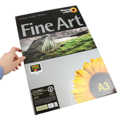 A3 PermaJet Digital Photo Paper Portfolio - 220gsm - 25pk