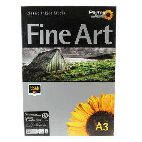 A3 PermaJet Digital Transfer Film - 165µ - 10pk