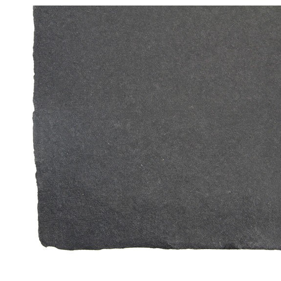Coloured Rag Paper 56 x 76cm Black Smooth 320gsm