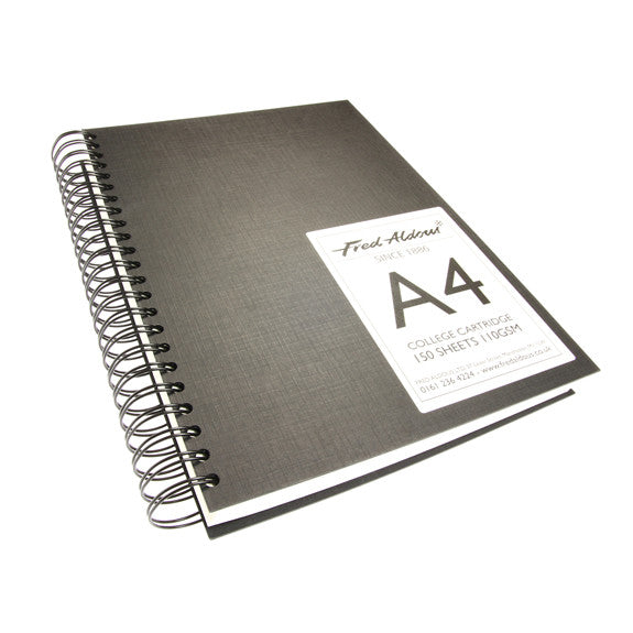 FA Sketchbook Super Jumbo Spiral Bound Long Edge A4