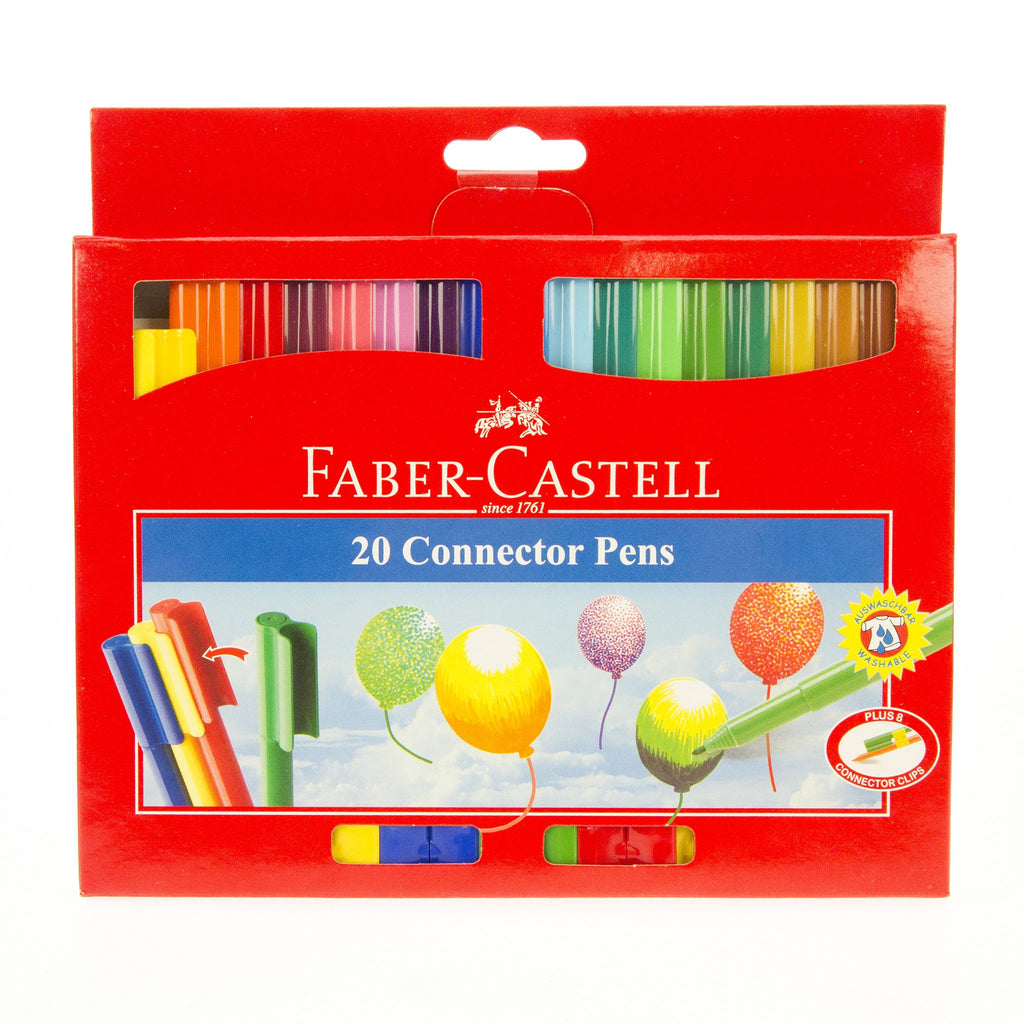 Faber Castell - 20 Connector Pens