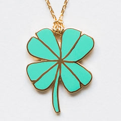 Yellow Owl Workshop-Pendant-Lucky Clover
