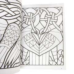 Celtic Stained Glass Pattern Book