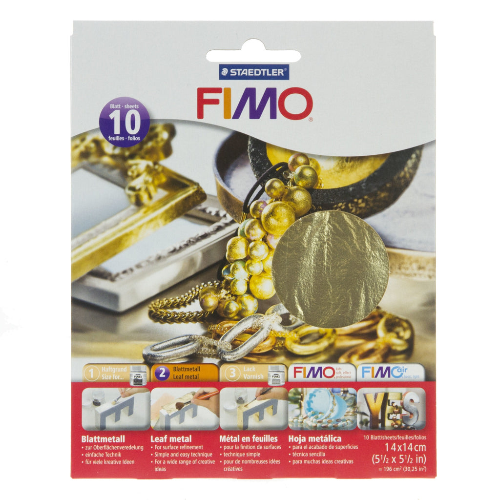 Fimo Leaf Metal - Gold