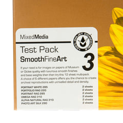 A4 PermaJet Smooth Art Test Pack - 20 Sheets