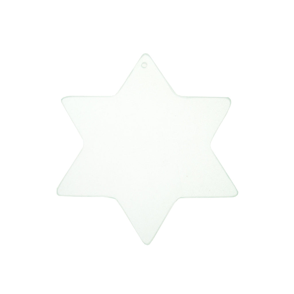 Glass Shape Star 90mm