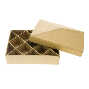 Decopatch Rectangle Compartments Box