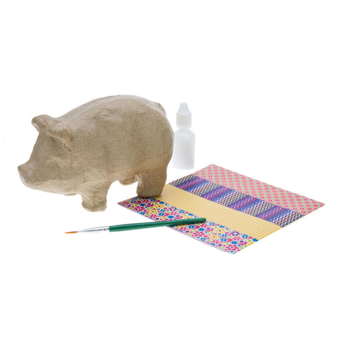 HC590 Decoupage Piggy Bank Kit