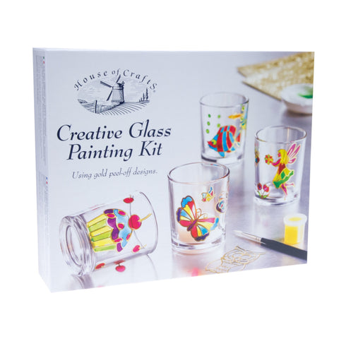 HC600 Creative Glass Paint Kit