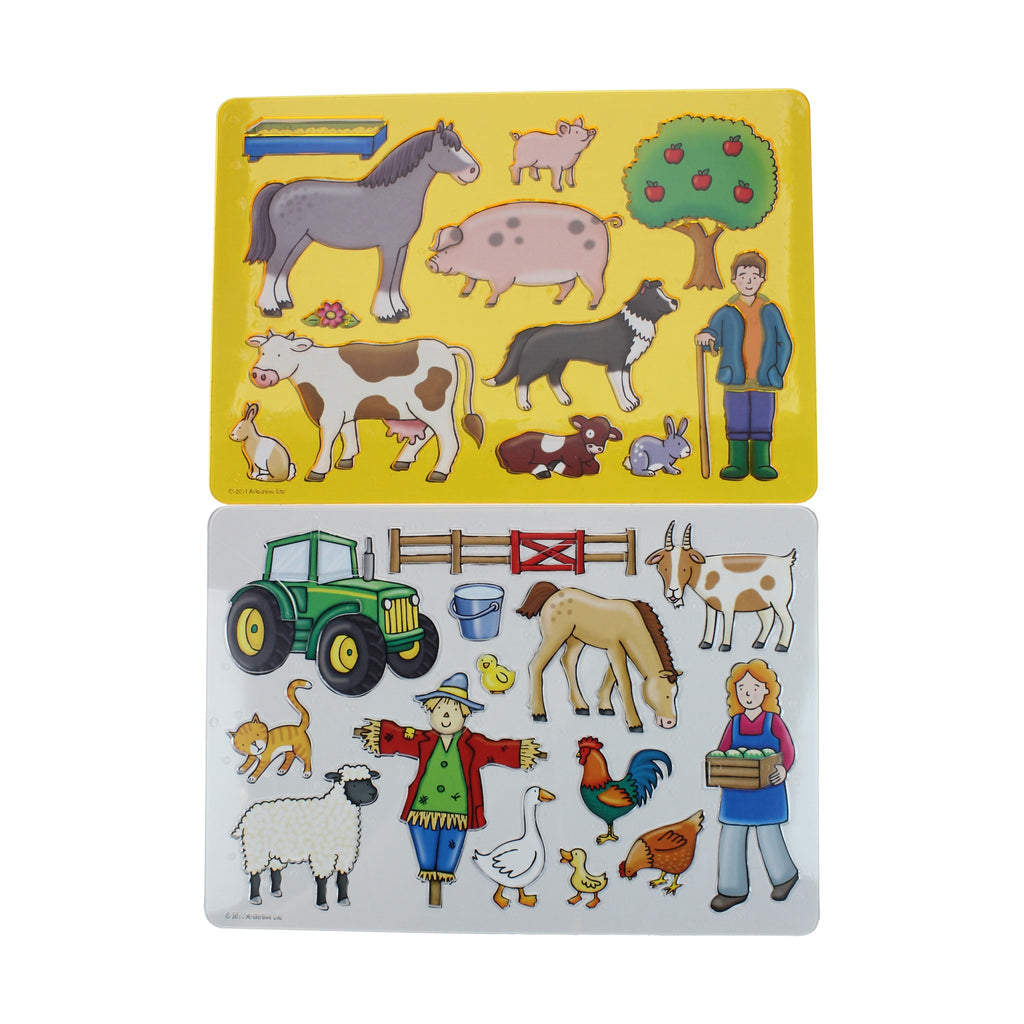 Creation Station Farm Stencils - 2 Pack