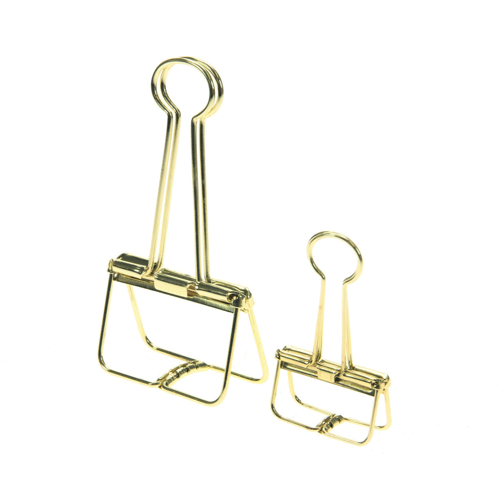 HAY Outline Set of 10 Clips - Gold